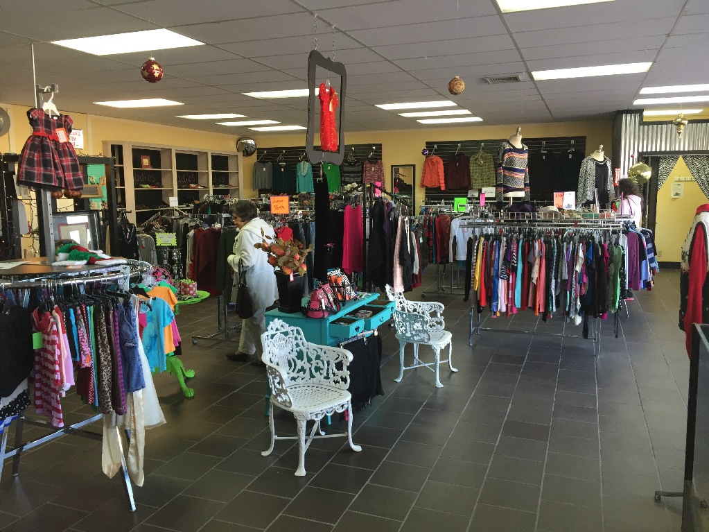 The inside of Next 2 New looks more like a boutique than a consignment store.