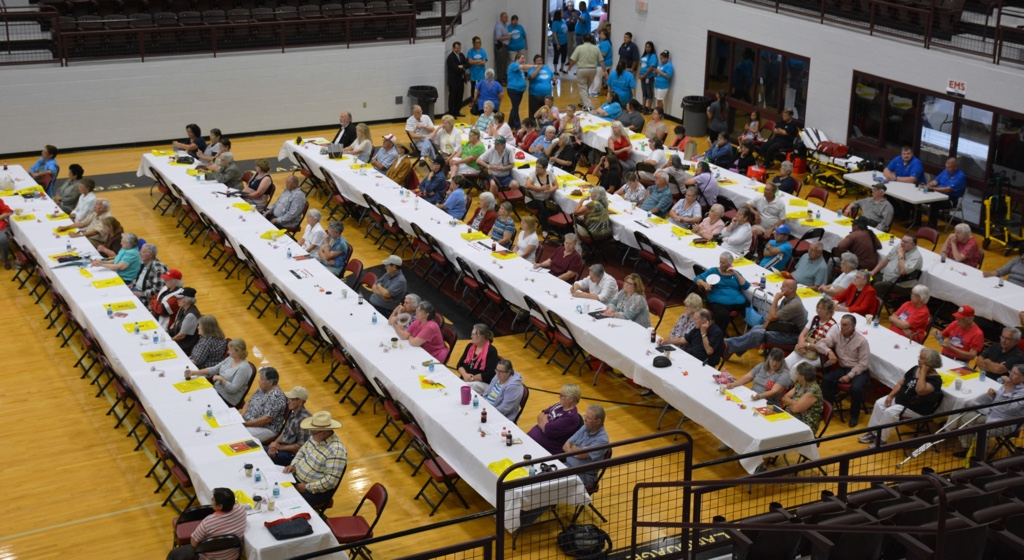 Hundreds of Cherokee elders attended the first Cherokee Nation Elder's Summit in 2015.