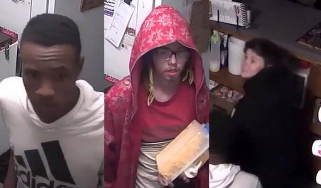 If you know any of these three burglars, please contact police.