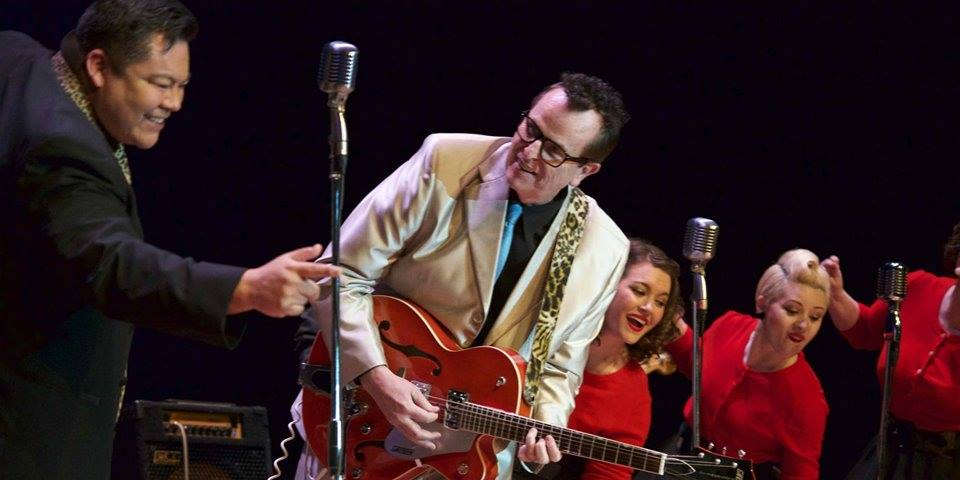 Tommy Cummings, Jim Paul Blair, Jessica Holloway and Angelina Cummings bring the Buddy Holly era back to life.