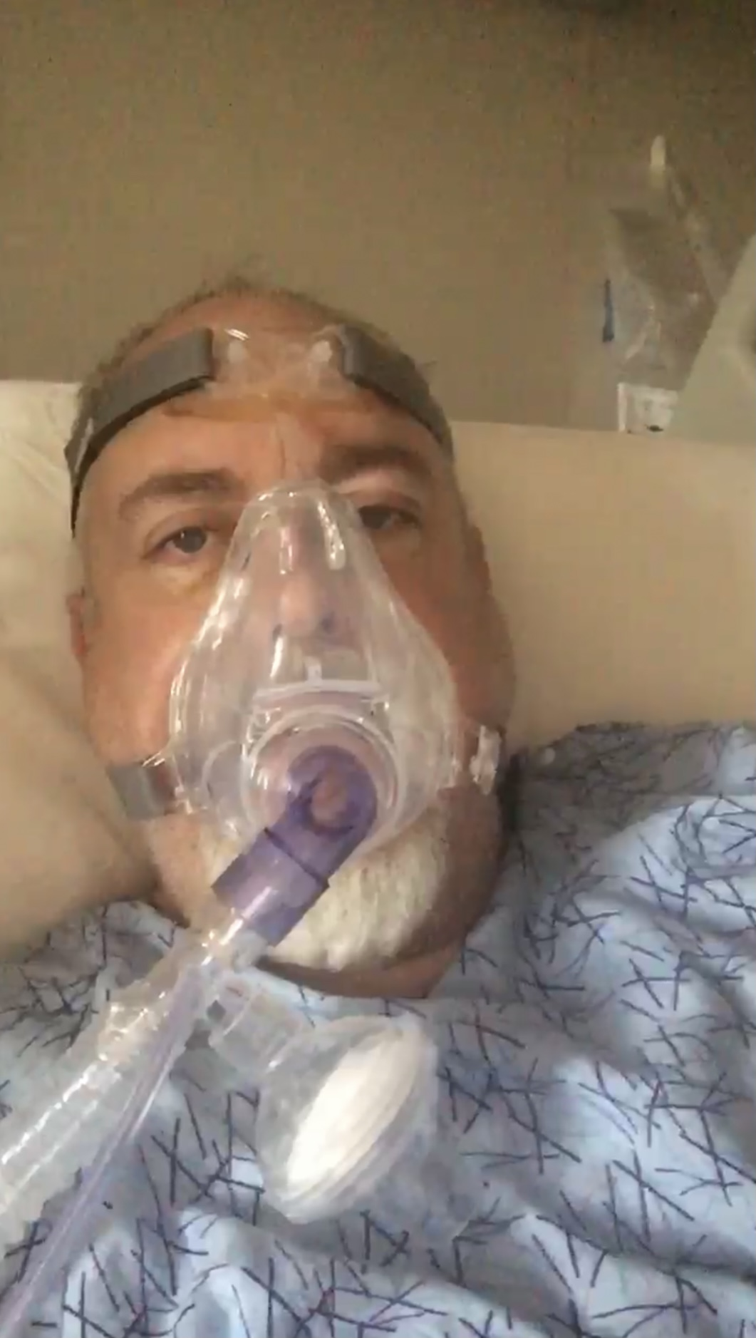 John Johnson was on life support before prayer and Ivermectin